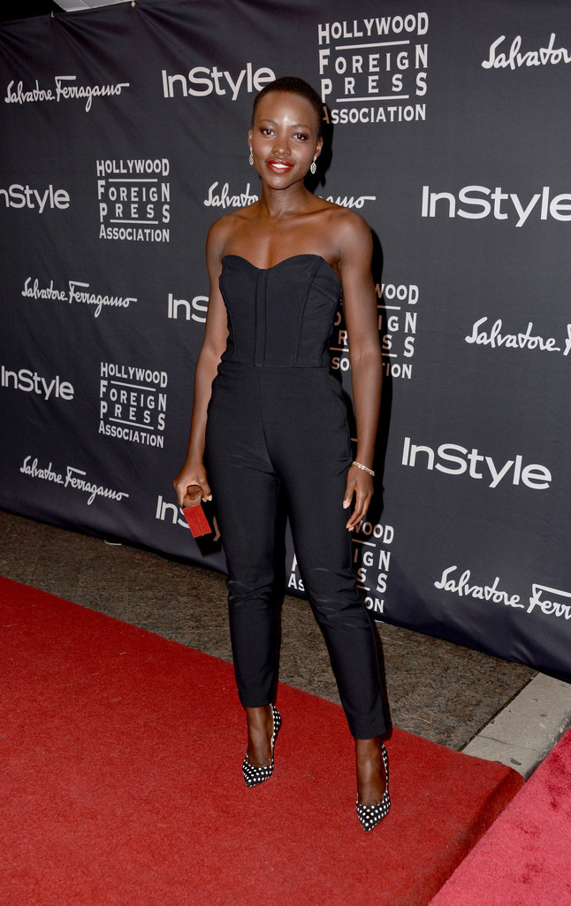 Actress Lupita Nyong'o arrives at the TIFF HFPA / InStyle Party during the 2013 Toronto International Film Festival at Windsor Arms Hotel on September 9, 2013 in Toronto, Canada.