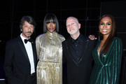 Pierpaolo Piccioli, Naomi Campbell, Ryan Murphy and Janet Mock attend the TIME 100 Gala 2019 Dinner at Jazz at Lincoln Center on April 23, 2019 in New York City.