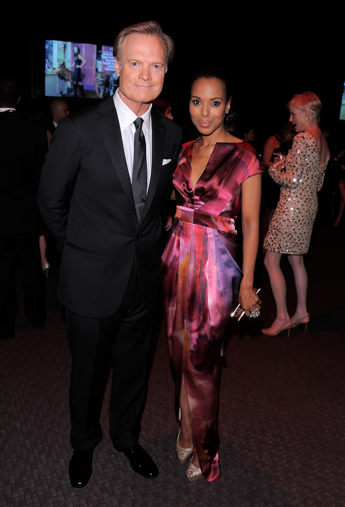kerry washington and lawrence odonnell photos photos