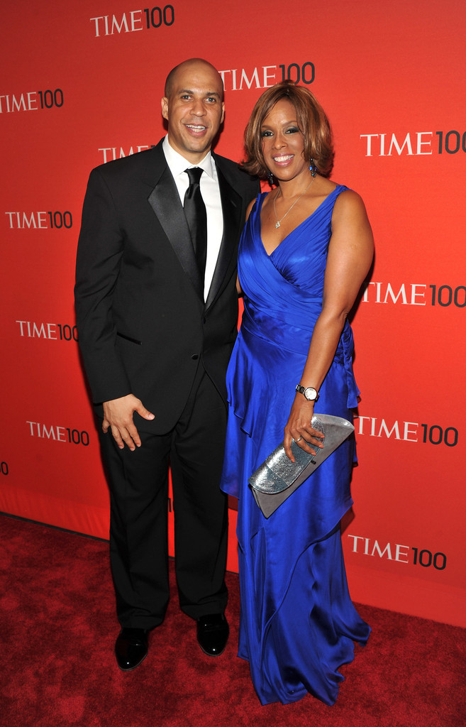 Gayle King And Cory Booker Photos Photos TIME 100 Gala