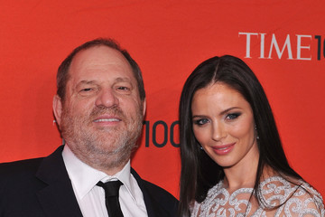 Harvey Weinstein Georgina Chapman TIME 100 Gala, TIME'S 100 Most Influential People In The World - Red Carpet