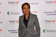 News Broadcaster Robin Roberts.arrives at the TIME 100 Health Summit at Pier 17 on October 17, 2019 in New York City.