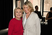 Hillary Clinton and Martha Stewart attend the TIME 100 Summit 2019 on April 23, 2019 in New York City.