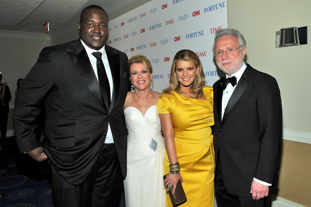 The blind side quinton aaron