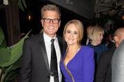 (L-R) Kevin Reilly and Samantha Bee attend the TNT And TBS Emmy After-Party 2018 at Dama on September 17, 2018 in Los Angeles, California.