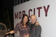 Ruve McDonough and actor Neal McDonough attned TNT's 'Mob City' Screening after party at Emerson Theatre on November 21, 2013 in Hollywood, California.