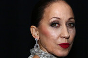 Pat Cleveland poses backstage for TRESemme at the Naeem Khan show during NYFW on February 12, 2019 in New York City.