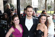 Nikki Sanderson, Charlie Clapham and Jennifer Metcalfe attend the TRIC Awards on March 10, 2015 in London, England.