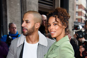 Marvin Humes and Rochelle Humes attend the TRIC Awards 2018 held at The Grosvenor House Hotel on March 13, 2018 in London, England.