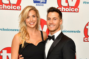 Gemma Atkinson and Gorka Marquez attend the TV Choice Awards at The Dorchester on September 10, 2018 in London, England.