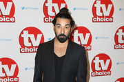 Ray Panthaki arrives for the TV Choice Awards at The Dorchester on September 5, 2016 in London, England.