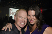 Actor Neal McDonough (L) and Ruve McDonough attend the TV Guide Magazine's Hot List Party at Emerson Theatre on November 4, 2013 in Hollywood, California.