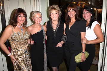 Andrea McLean Lisa Maxwell TV Quick & TV Choice Awards - Champagne Reception