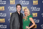 Slade Smiley (L) and Gretchen Rossi arrive at WE tv's Real Love: Relationship Reality TV's Past, Present & Future event at The Paley Center for Media on December 11, 2018 in Beverly Hills, California.