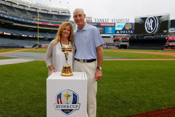 Tabitha Furyk United States Ryder Cup Captain Jim Furyk Throws Out First Pitch At New York Yankees Game