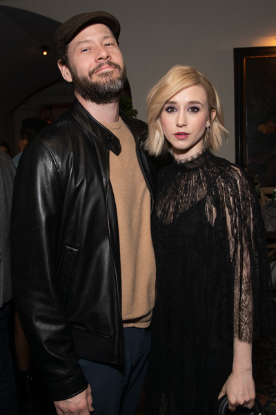 CBS All Access New Series 'The Twilight Zone' Premiere - After Party [the twilight zone,series,facial hair,fashion,beard,event,textile,fashion design,outerwear,leather,leather jacket,fur,taissa farmiga,ike barinholtz,cbs all access new series,harmony gold preview house and theater,california,party,party,premiere]