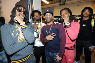Takeoff Backstage at Power 105.1's Powerhouse