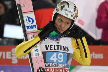 Taku Takeuchi FIS Nordic World Cup - Four Hills Tournament Qualification