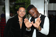 Evan Ross and Johnell Young attend Talent Resources Presents Airgraft's The Art Of Clean Vapor on September 06, 2019 in Los Angeles, California.