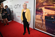 """Olympia Dukakis attends """"Tales Of The City"""" New York Premiere at The Metrograph on June 03, 2019 in New York City."""
