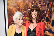 """Olympia Dukakis and Jen Richards attend """"Tales Of The City"""" New York Premiere at The Metrograph on June 03, 2019 in New York City."""
