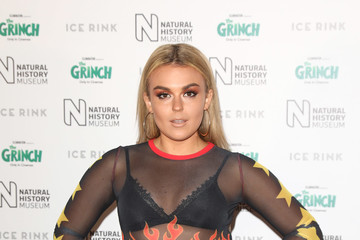 Talia Storm Natural History Museum Ice Rink VIP Launch Night - Photocall