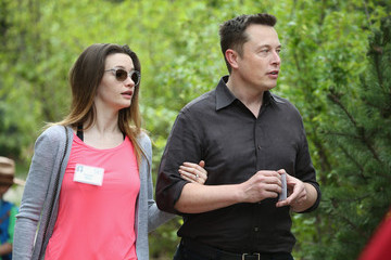 Talulah Riley Business Leaders Converge in Sun Valley, Idaho for the Allen and Company Annual Meeting