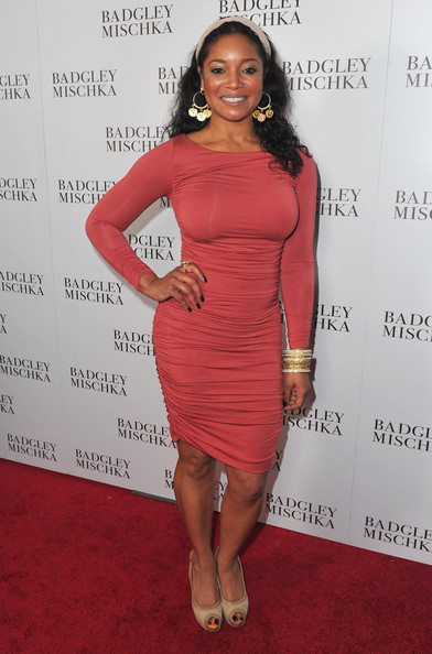 Tamala Jones Actress Tamala Jones arrives to the opening of the Badgley Mischka Flagship Store on Rodeo Drive on March 2, 2011 in Beverly Hills, California.