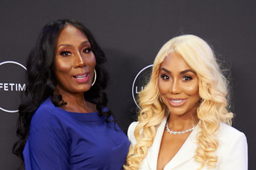 Tamar Braxton Premiere of Lifetime's 'Faith Under Fire: The Antoinette Tuff Story'