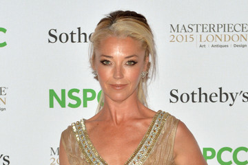 Tamara Beckwith Celebrities Arrive at the NSPCC Neo-Romantic Art Gala