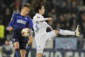 Tamas Kadar Lazio vs. Dynamo Kiev - UEFA Europa League Round of 16: First Leg