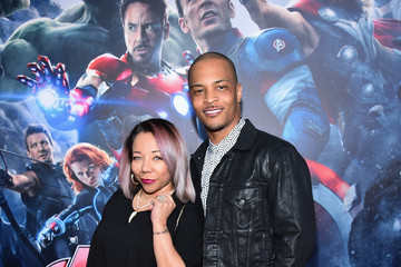 Tameka Cottle World Premiere of Marvel's 'Avengers: Age Of Ultron' - Red Carpet