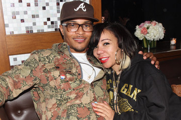 Tameka Tiny Cottle-Harris Moet Rose Lounge Presents T.I., A Celebration For His New Album Trouble Man: Heavy Is The Head