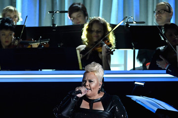 Tamela Mann The 59th GRAMMY Awards - Show