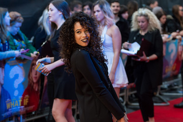 Tamera Foster 'What If' Premieres in London