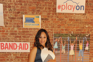 Tamera Mowry-Housley #Play On Event in NYC