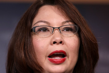 Tammy Duckworth Democratic Senators Discuss Concerns With AG-Nominee Jeff Sessions