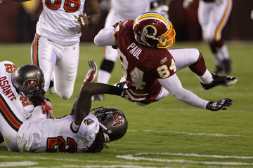 Myron Lewis Tampa Bay Buccaneers v Washington Redskins