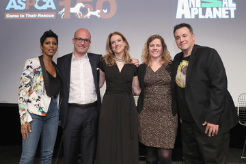 Tamron Hall Erin Wanner ASPCA & Animal Planet Host Exclusive Premiere Screening of 'Second Chance Dogs' in Honor of ASPCA's 150th Anniversary