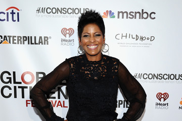 Tamron Hall 2014 Global Citizen Festival In Central Park To End Extreme Poverty By 2030 - VIP Lounge