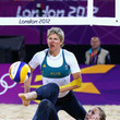 Tamsin Hinchley Olympics Day 5 - Beach Volleyball