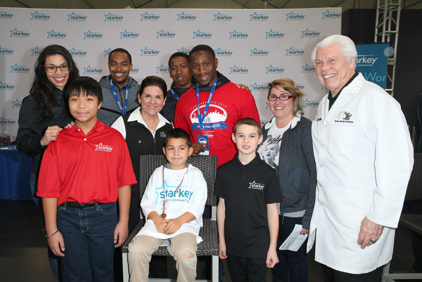 Celebrity Hearing Mission with Starkey Hearing Foundation - Super Bowl Weekend 2016