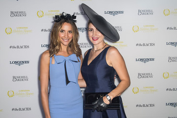 Tanya Lazarou Celebrities Attend Golden Slipper Day