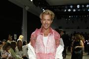 Derek Warburton attends the Taoray Wang front row during New York Fashion Week: The Shows at Gallery II at Spring Studios on September 07, 2019 in New York City.