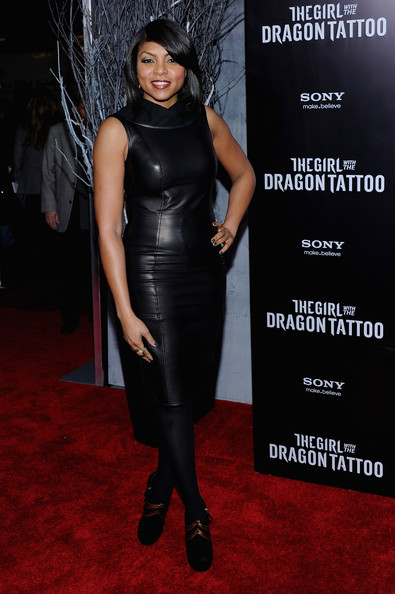 Taraji P Henson The Girl With The Dragon Tattoo New York Premiere