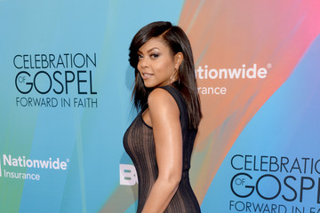 Taraji P. Henson BET Celebration of Gospel 2014 - Red Carpet