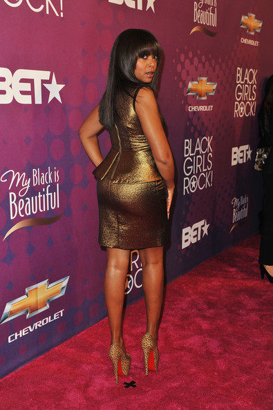 Taraji P. Henson - BET's Black Girls Rock 2012 - CHEVY Red Carpet
