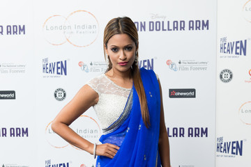 Tasmin Lucia Khan 'Million Dollar Arm' Premieres in London