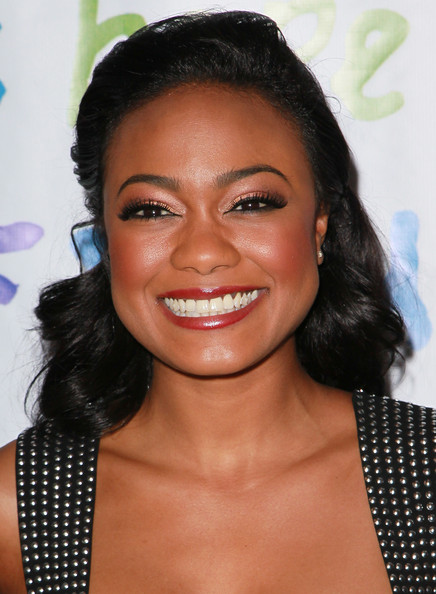 Download this Tatyana Ali Actress Attends The Jenesse Silver Rose picture