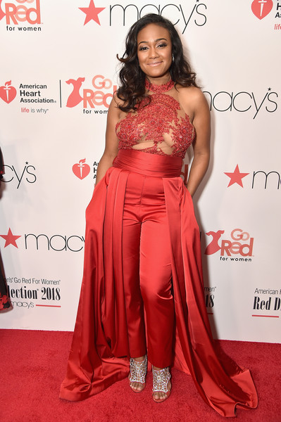 Tatyana ali photos photos the american heart associations go red the american heart associations go red for women red dress collection 2018 presented by macys altavistaventures Images